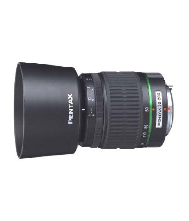 Pentax Da 50-200mm F/4-5.6 Ed Lens For Pentax And Samsung Dslr Cameras