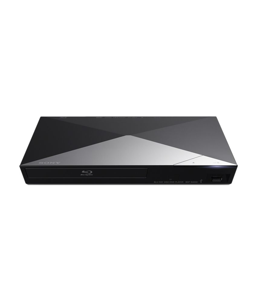 buy sony bdp s4200 3d blu ray player online at best price. Black Bedroom Furniture Sets. Home Design Ideas