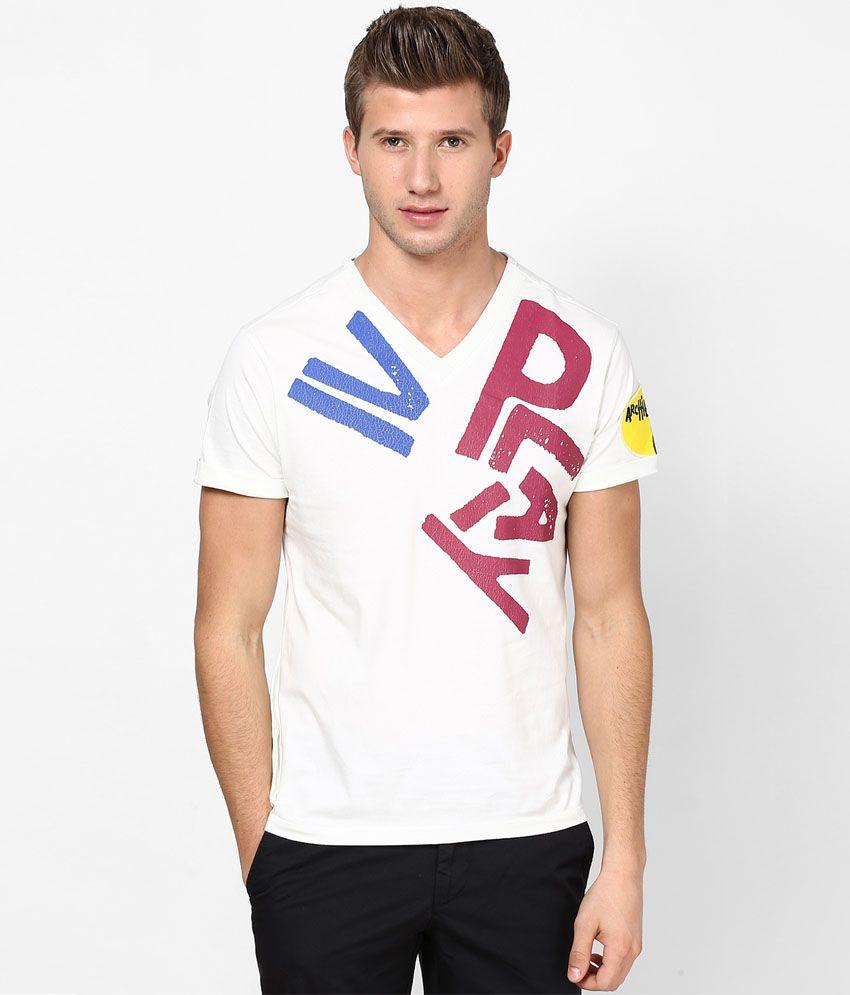 Ivpl@y T Shirt Ivory