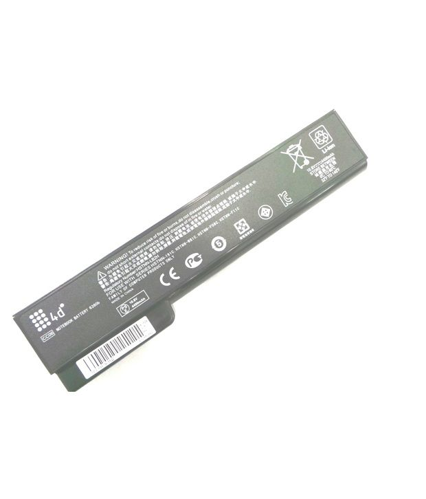 4d Hp Elitebook 8560w 6 Cell Laptop Battery