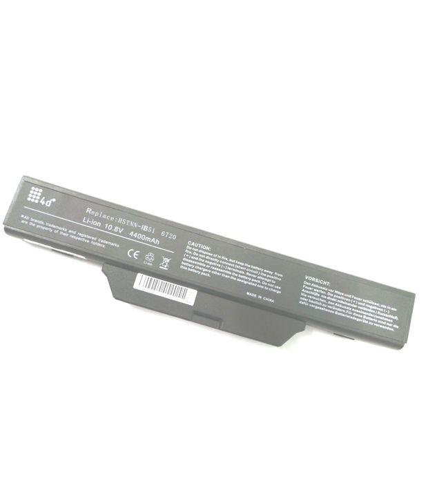 4d Hp Hstnn-w79c-7 6 Cell Laptop Battery