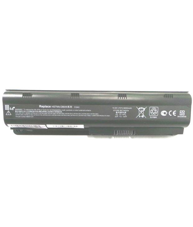 4d Hp Mu06062 9 Cell Laptop Battery