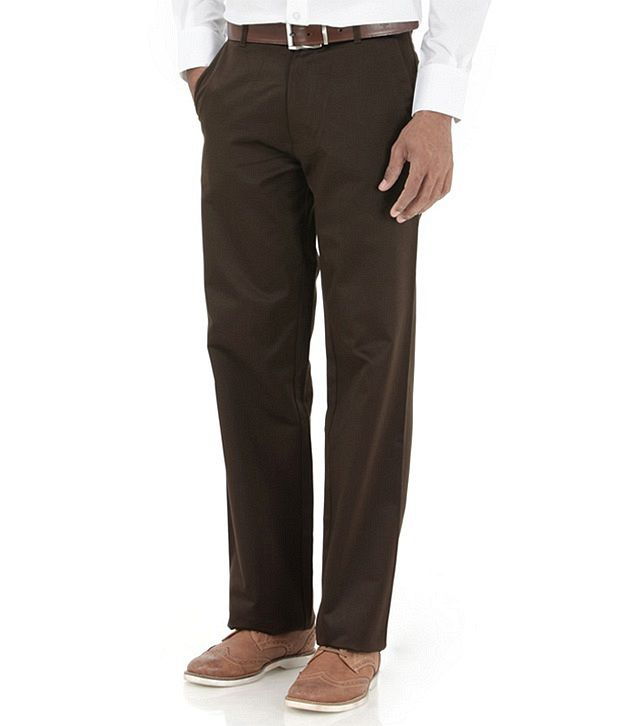 Basics Brown Regular Casuals