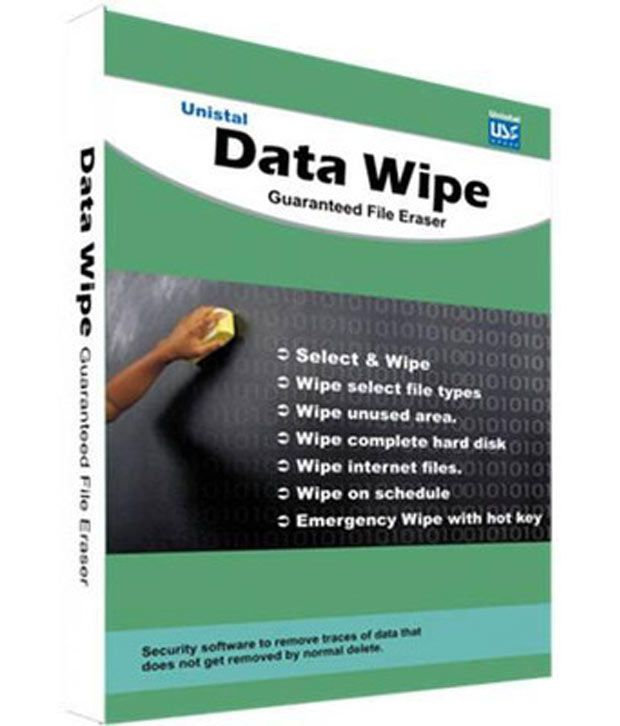 Unistal Data Wipe - File Eraser Software ( CD ) - Buy Unistal Data