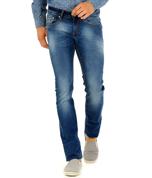 Basics Blue Skinny  Jeans