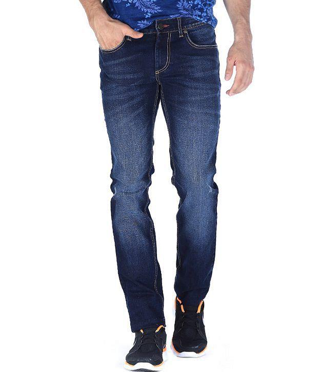 Basics Navy Skinny  Jeans
