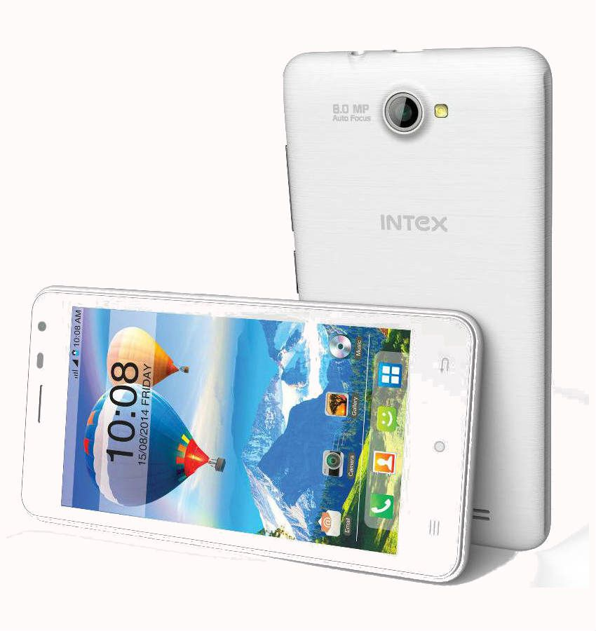 Intex Aqua Style X (White)