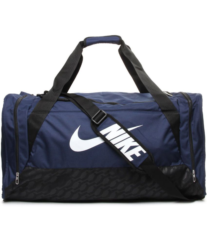 Gym Bag Flipkart: Buy Nike Navy Polyester Gym
