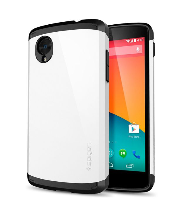 Eclipse spigen nexus 5 infinity white slim armor back for Spigen nexus 5 template