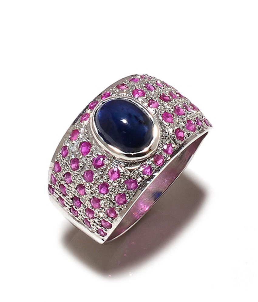 Jewel Place Silver Ring