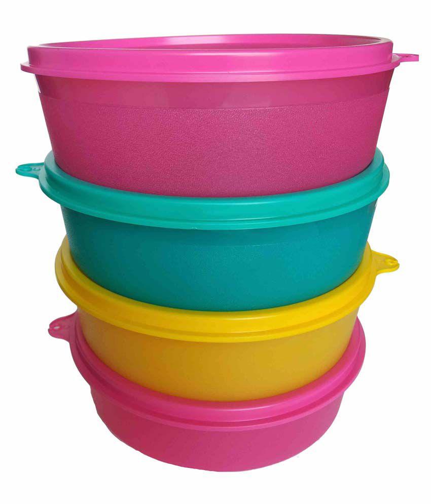 Tupperware Handy Bowl Set Of 4: Buy Online at Best Price in India ...