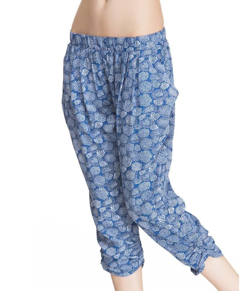 Private Lives Blue Cotton Shorts
