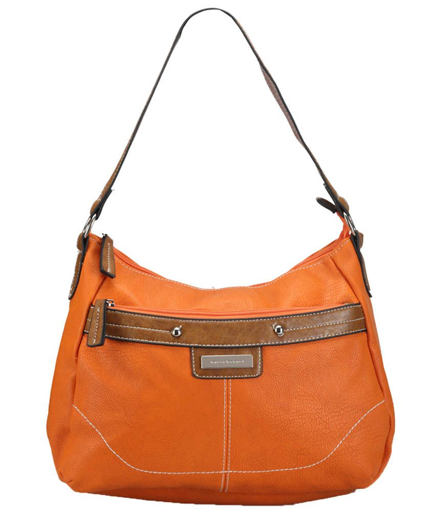 Bags Craze BC-ONLB-344 Orange Shoulder Bags