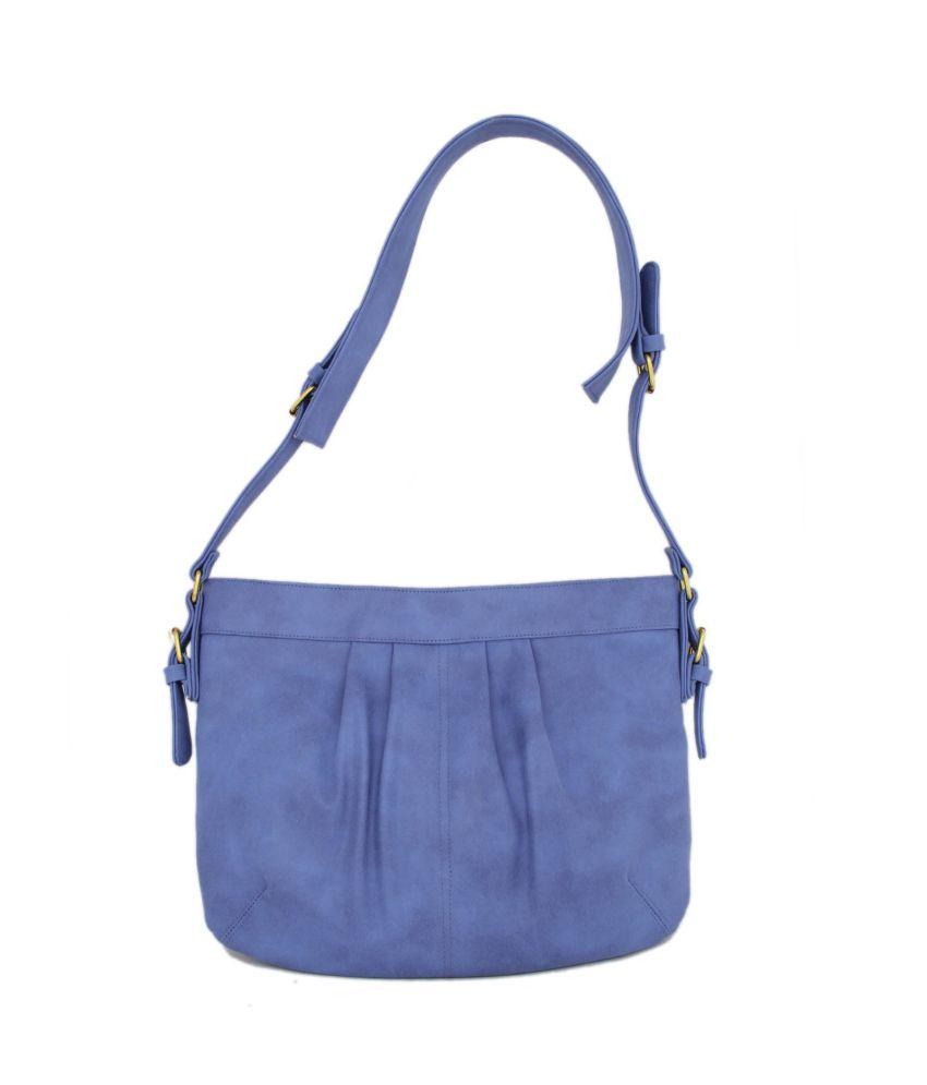 Loto Gris Blue Shoulder Bag