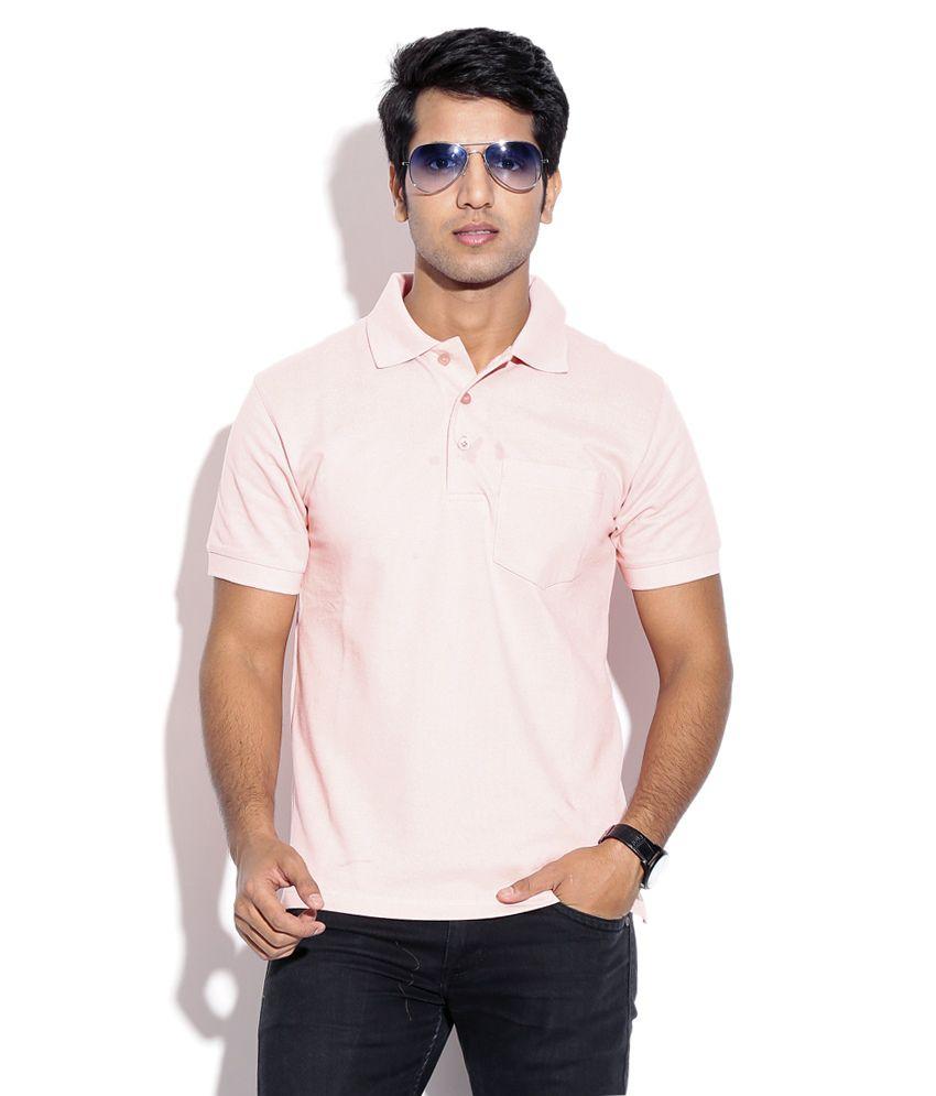 Wilkins & Tuscany 10259 Stylish Pink Men T Shirt