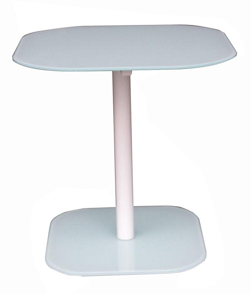 Tezerac End Table Endy - White