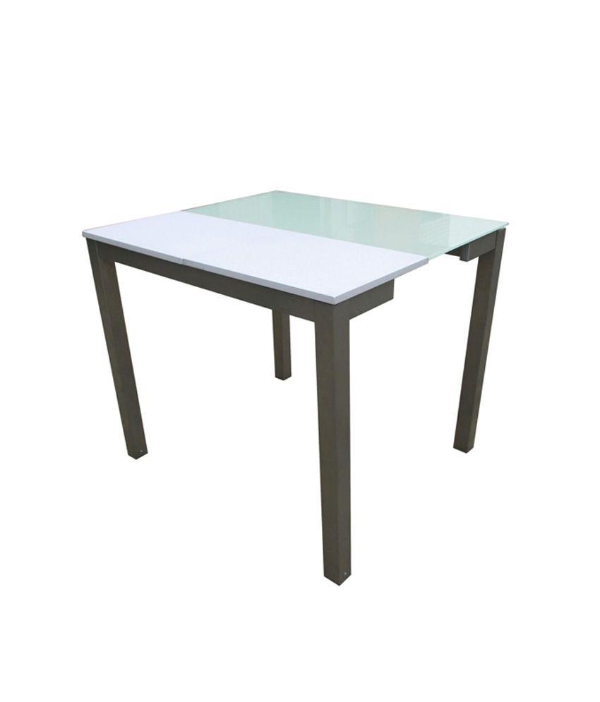 Tezerac Table Extensible Console Yang White Buy Tezerac Table