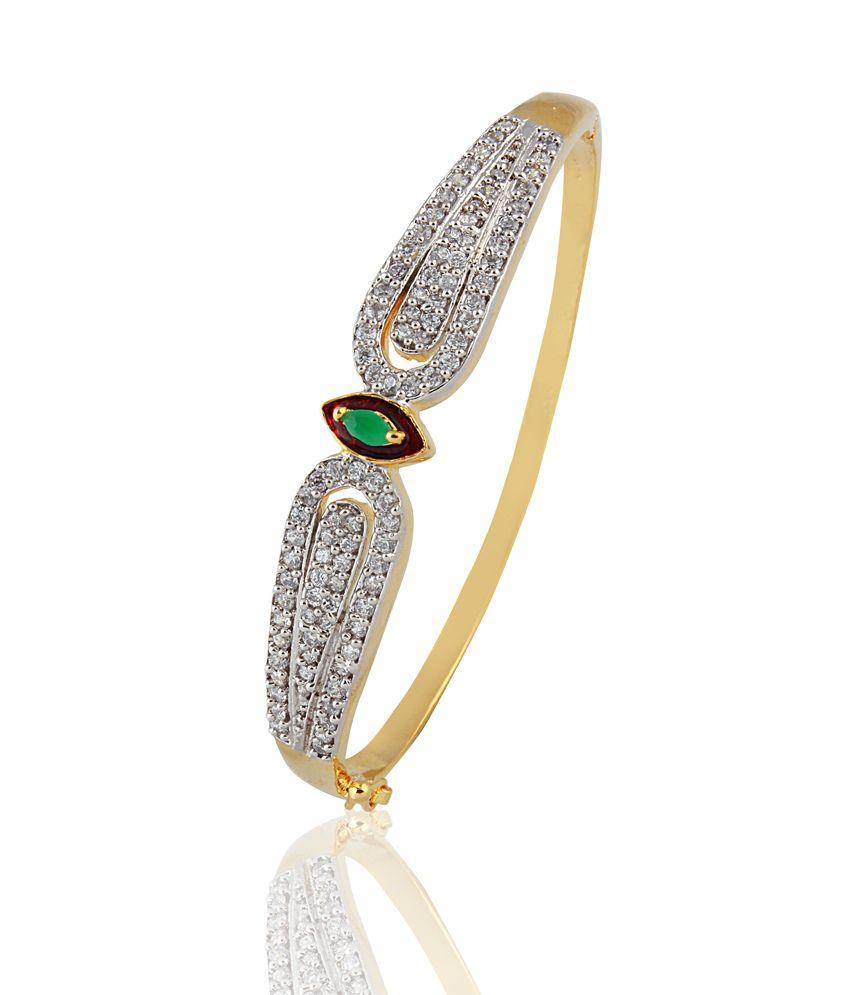 Heena Jewellery Style Diva Green Bracelet