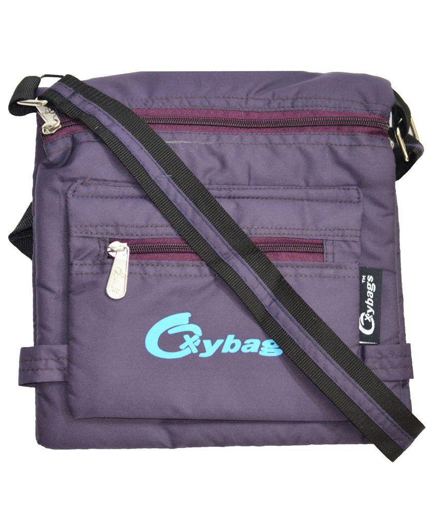 Jgshoppe Purple Sling Bag