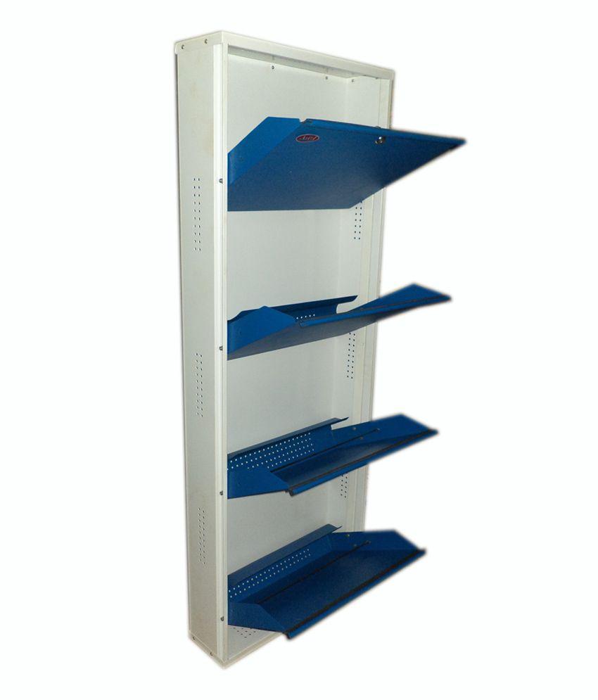 Aditi Blue Metal Wall Mounting Shoe