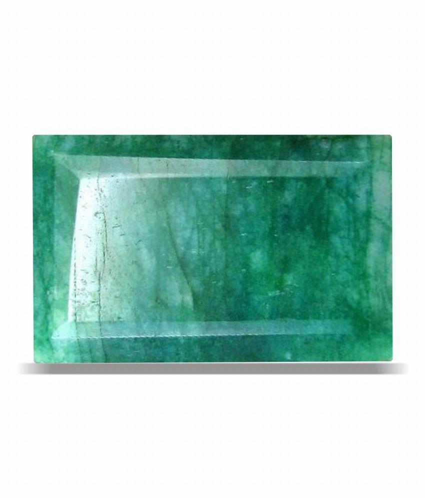 Anmol Ratna Certified Natural Emerald ( Panna / Budh ) Gemstone Of 3 - 3.5 Ratti / 3.31 Carat , Premium Category