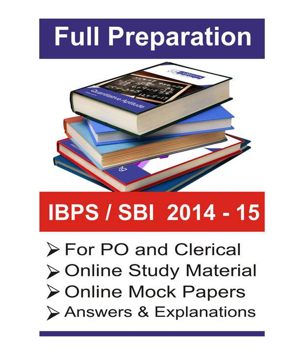 Sbi Po Exam 2014 Books Pdf