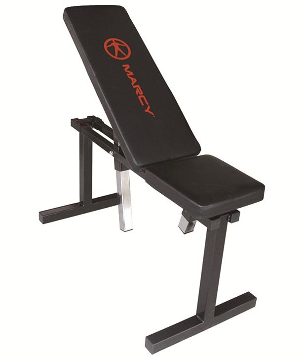 Marcy Adjustable Flat Exercise Bench: Buy Online at Best