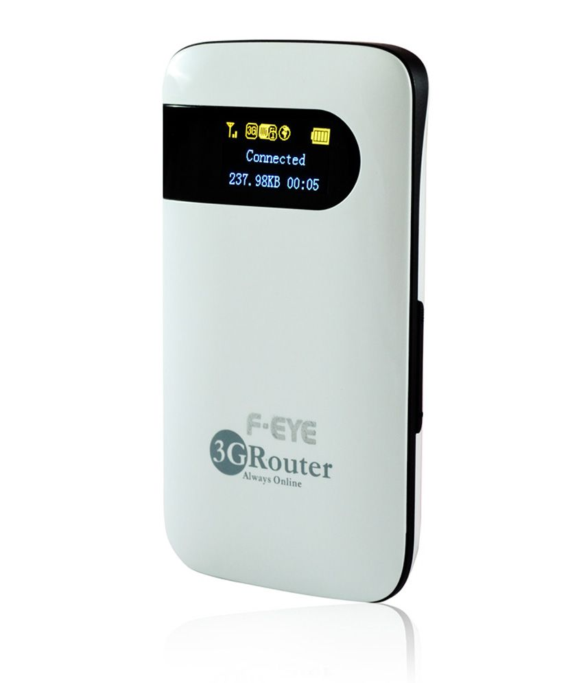 Ps Feye Portable Battery Powered 2G & 3G Mobile Wi-Fi 150Mbps High Speed Router With Sim + Micro Card Slot