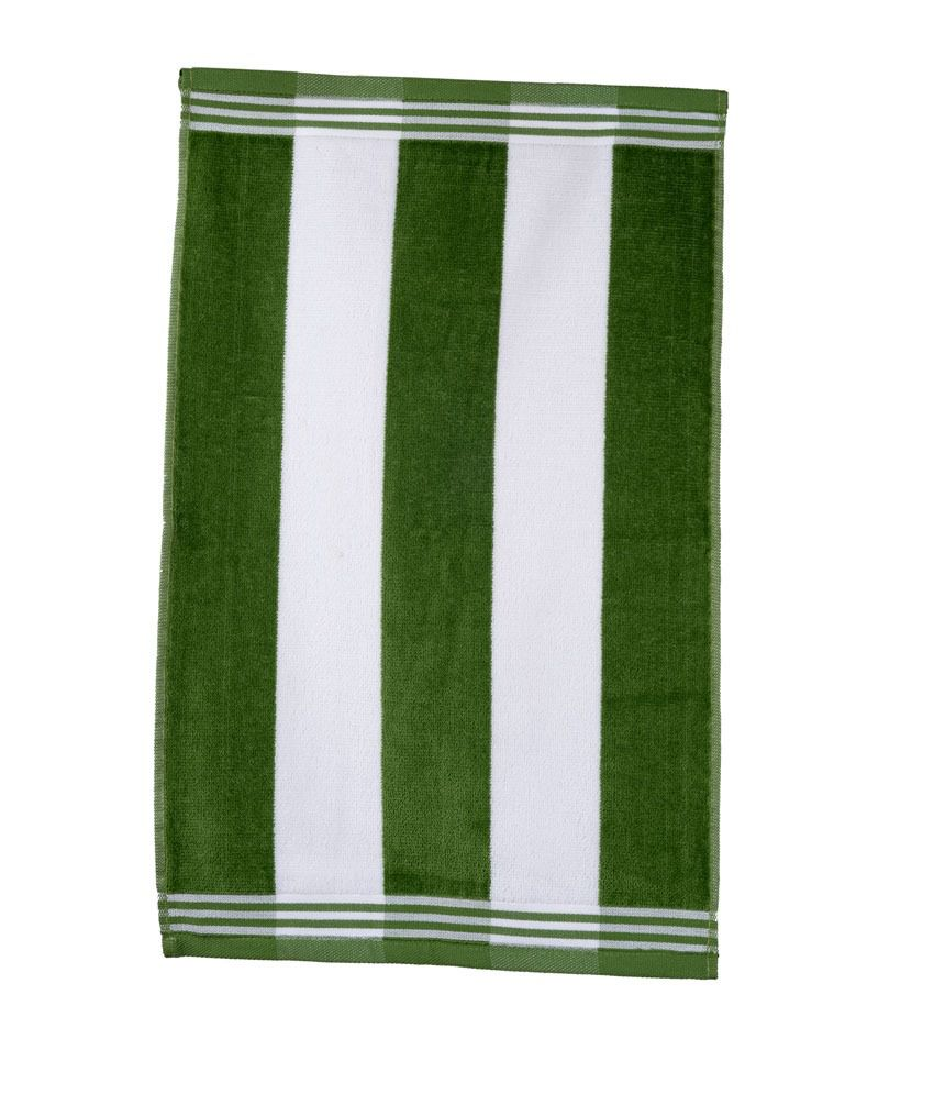 Sassoon Green Cotton Hand Towel