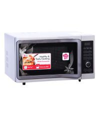 LG 28 LTR MC2883SMP Convection (with Rotisserie) Microwave - Silver Floral