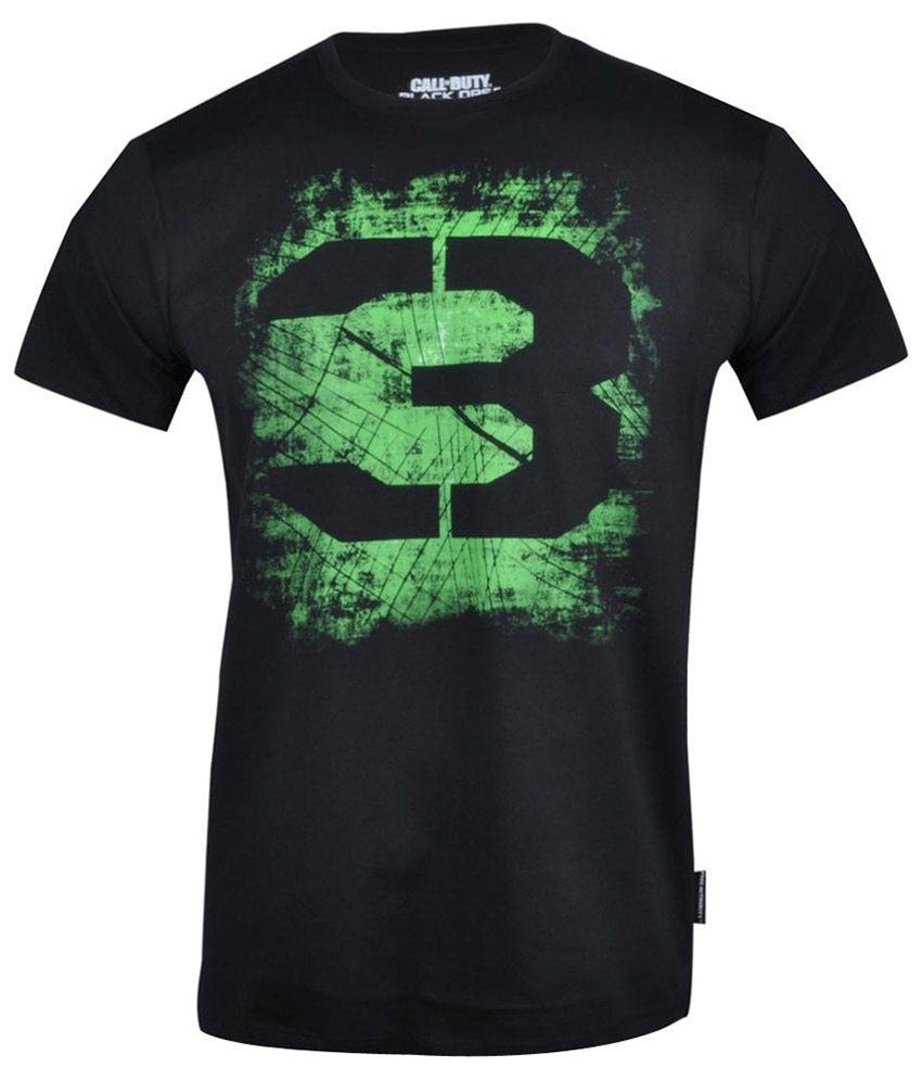 Call Of Duty Black Cotton T-shirt