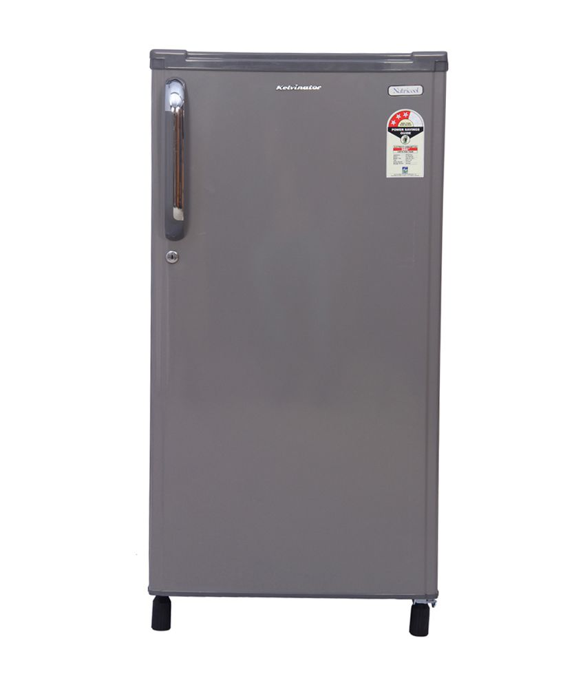 Kelvinator 170 Ltr Direct Cool KW183ESH-FDA Single Door Refrigerator Silver Hairline