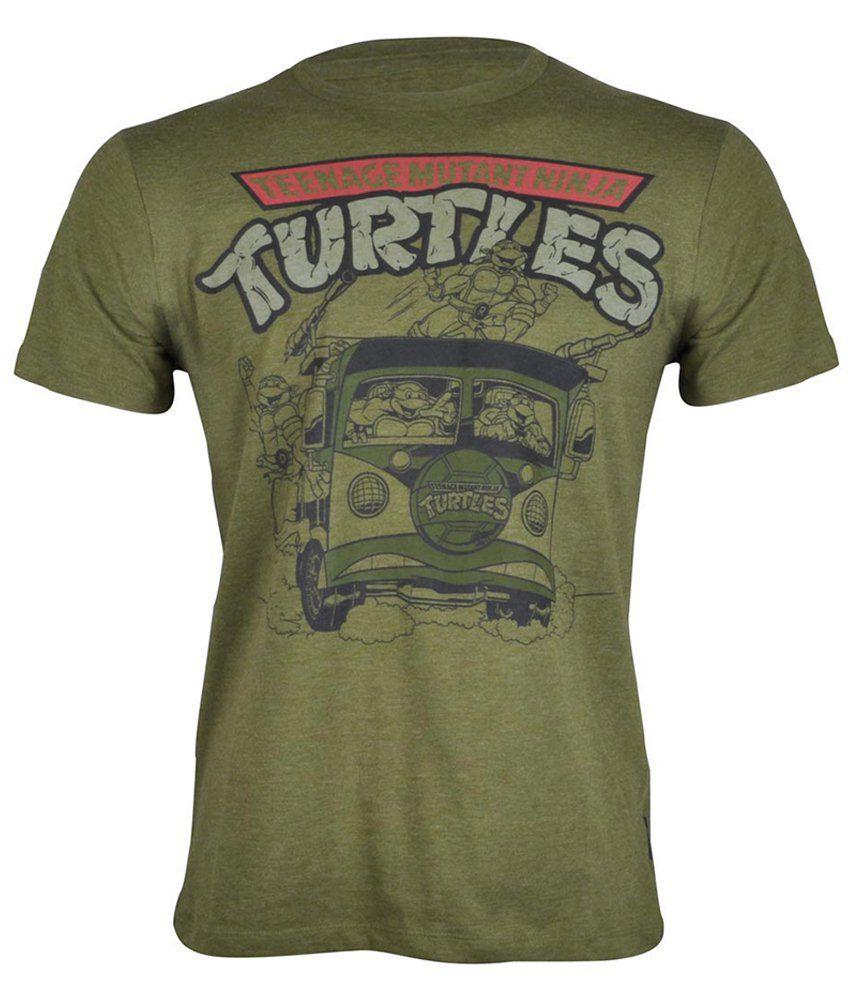 Teenage mutant ninja turtles green cotton t shirt buy for Green turtle t shirts review