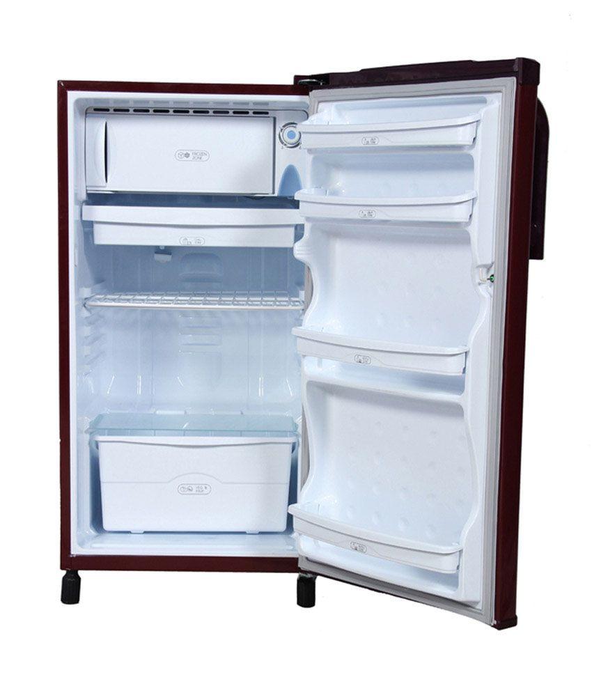 videocon 170 ltr vae183br single door refrigerator burgundy price