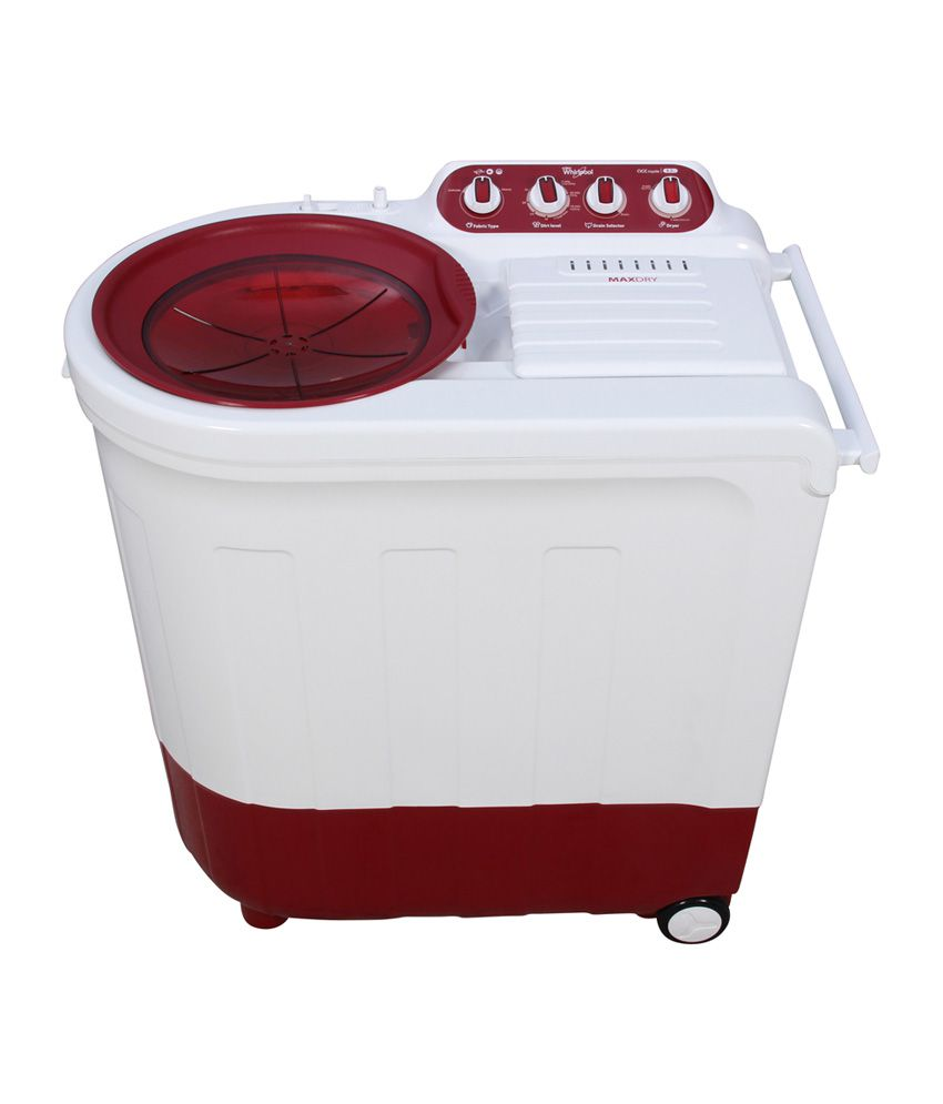 Whirlpool 8.2 Kg. ACE 8.2 Royale Semi Automatic Washing Machine Red