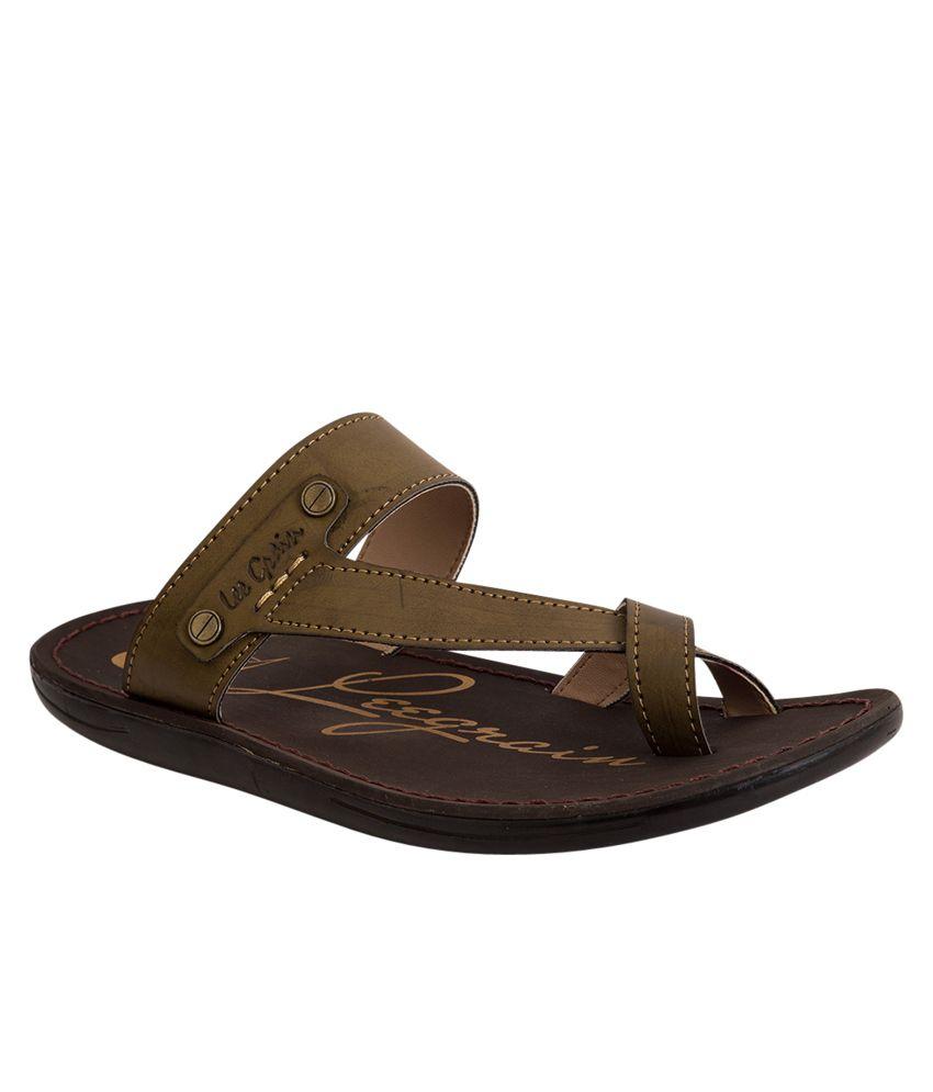 0de5a6f626d4a Lee Grain Green Slippers Price in India- Buy Lee Grain Green Slippers  Online at Snapdeal