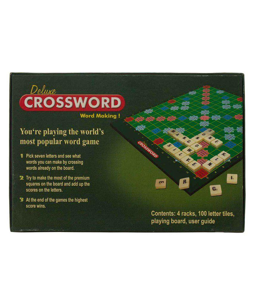 Olympia Deluxe Crossword Word Making Buy Olympia Deluxe Crossword