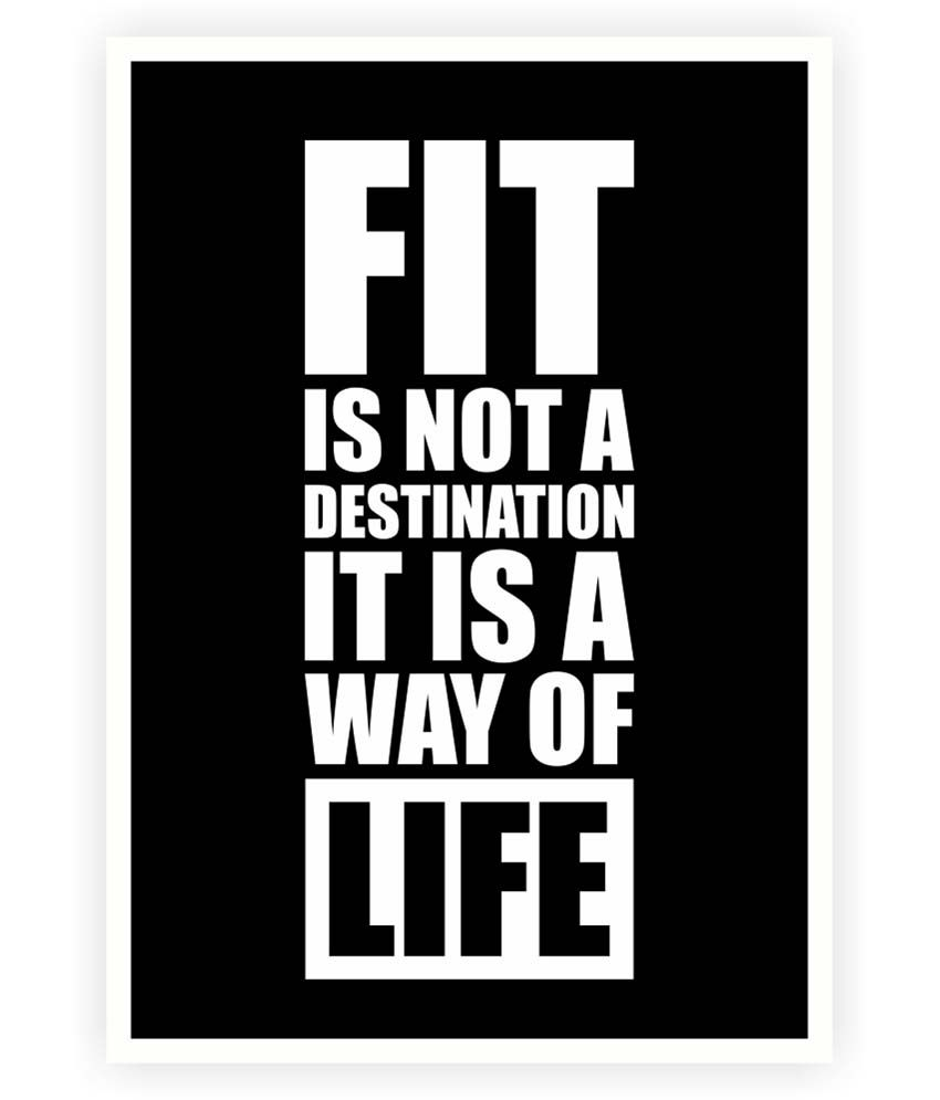 Lab no fit is not the destination gym fitness quotes