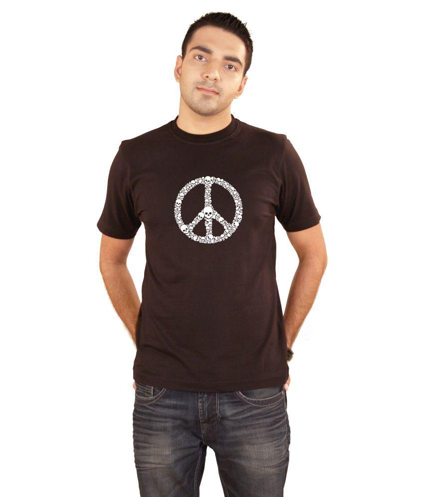 Hung Shoe War N Peace Men's Black T-shirt