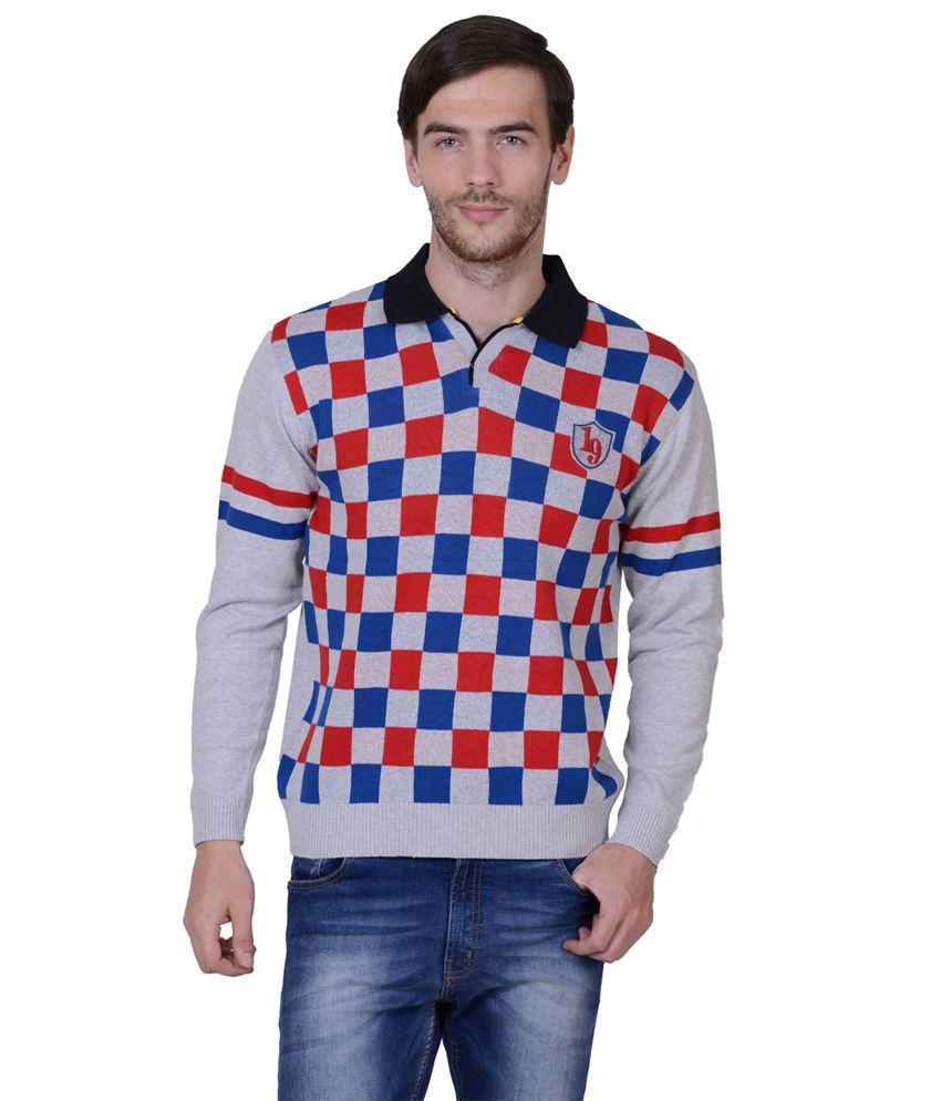 Sportking Black Cotton Stripers T-shirt