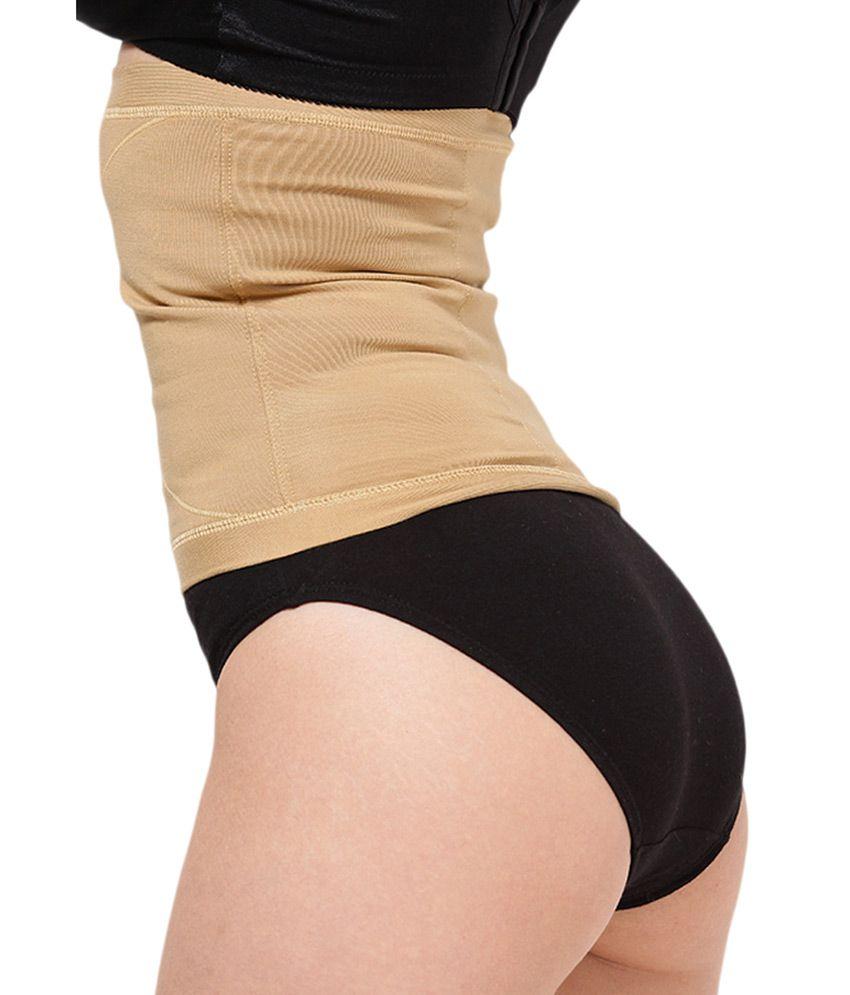 db5243c44342f Buy Dermawear Beige Tummy Reducer Shapewear Online at Best Prices in ...