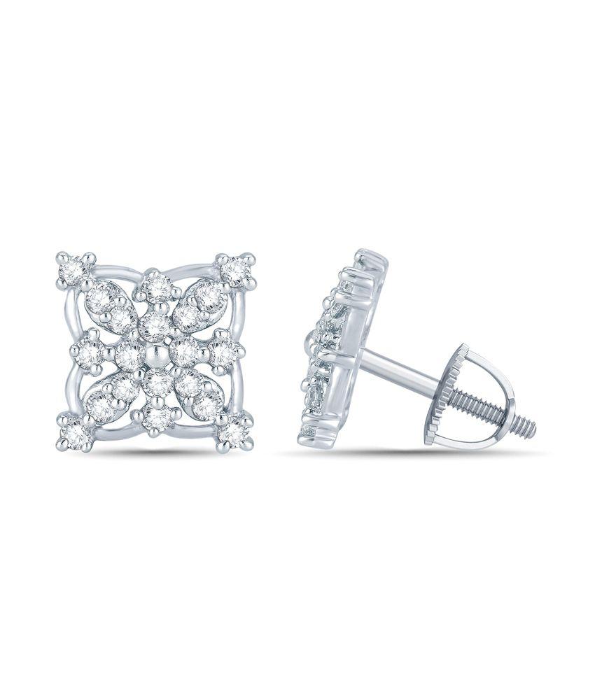 Mani Jewel 10Kt  Gold  Divyakshi  Earring