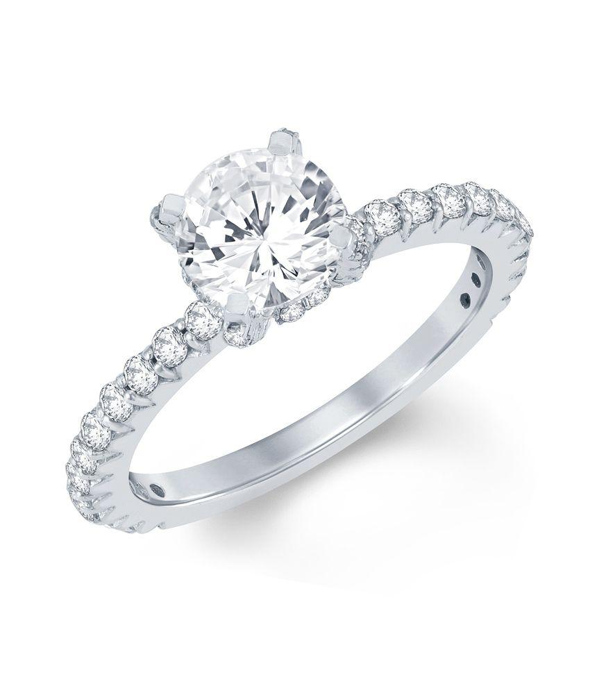 Mani Jewel 92.5Kt Silver  Vasudha  Ring