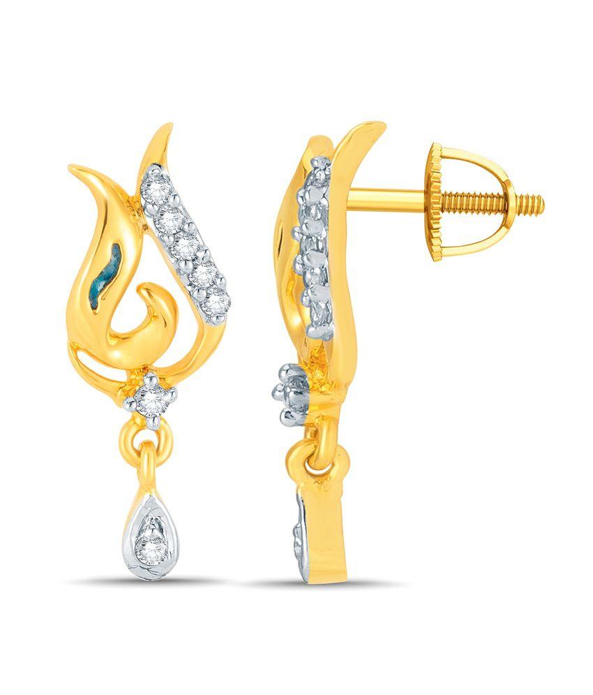 Mani Jewel 92.5Kt Silver  Kapila  Earring