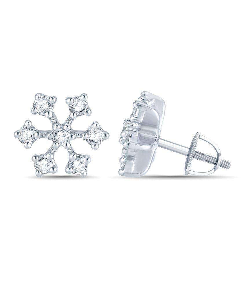 Mani Jewel 92.5Kt Silver  Divyaleela  Earring