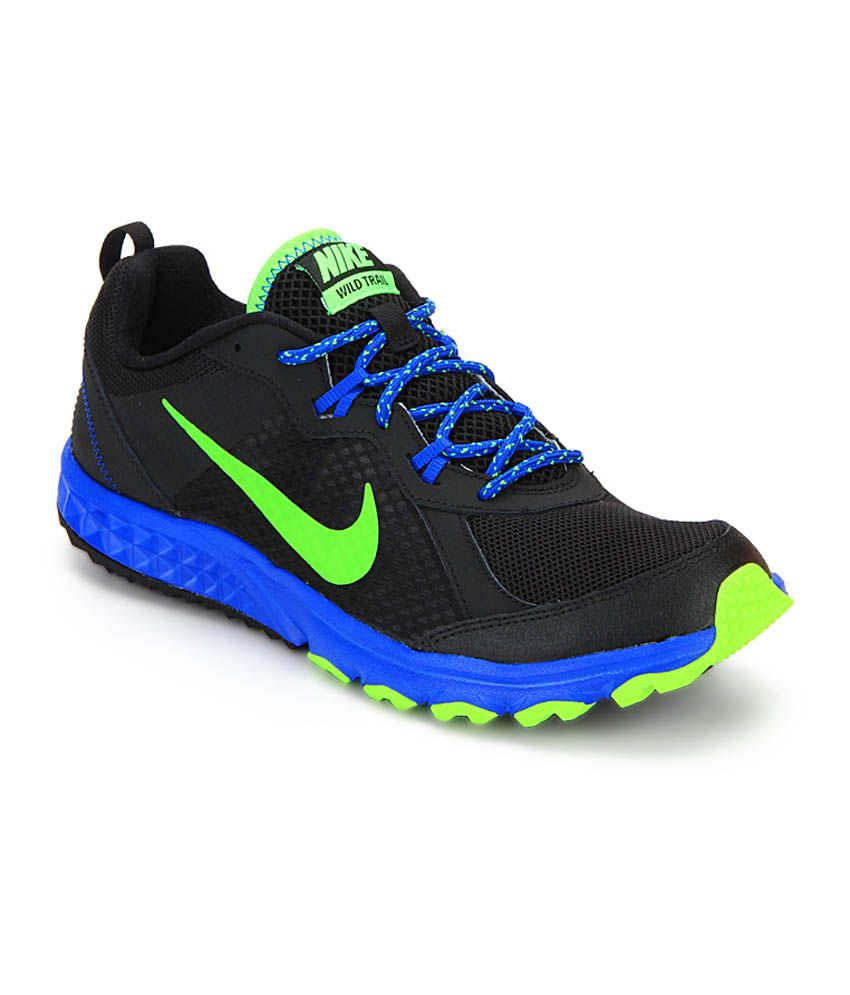 Nike Wild Trail Black Running Shoes