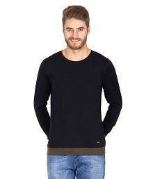 Rigo Black Cotton T-shirt, used for sale  Delivered anywhere in India