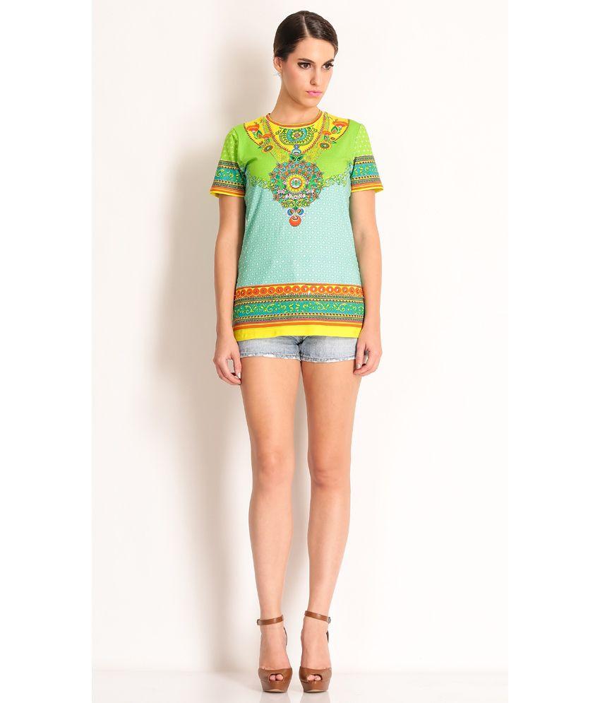 Manish Arora Multi Cotton T-Shirt