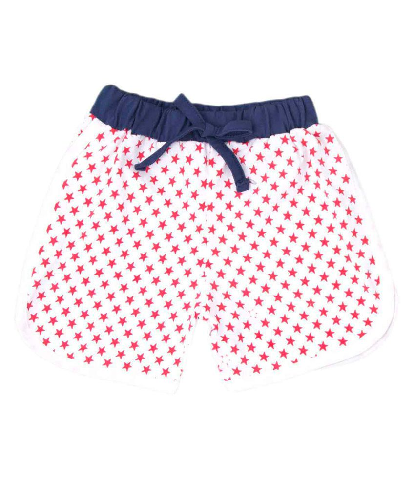 Bed Bugs Blue Cotton Shorts