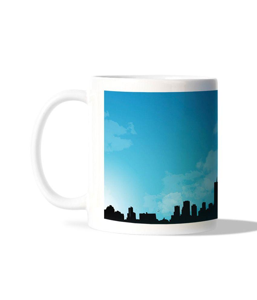 Bluegape Sanjeeth 27pixels Newyork City Mug
